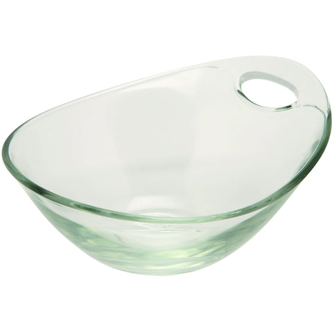 Handled Glass Bowl 14cm Dia