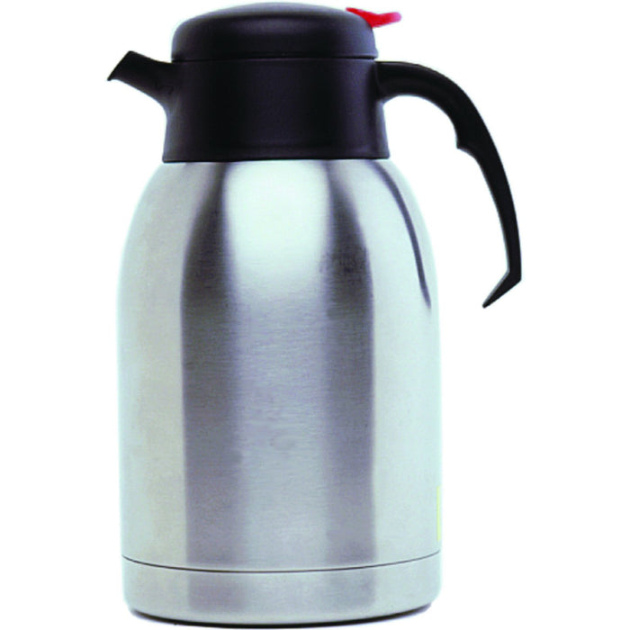 St/St Vacuum Push Button Jug 2.0L