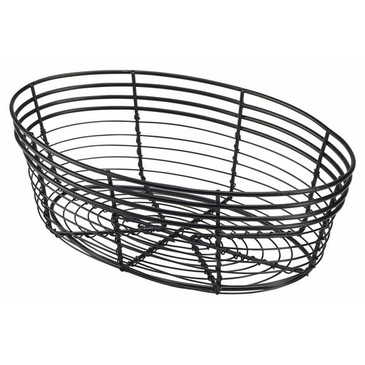 Wire Basket, Oval 25.5 x 16 x 8cm