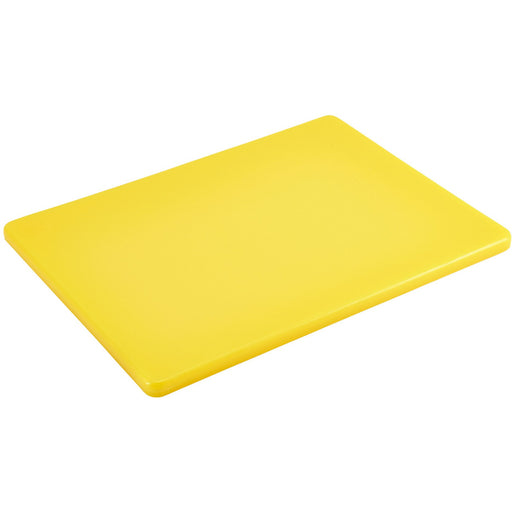 Yellow Low Density Chopping Board 12 x 9 x 0.5""