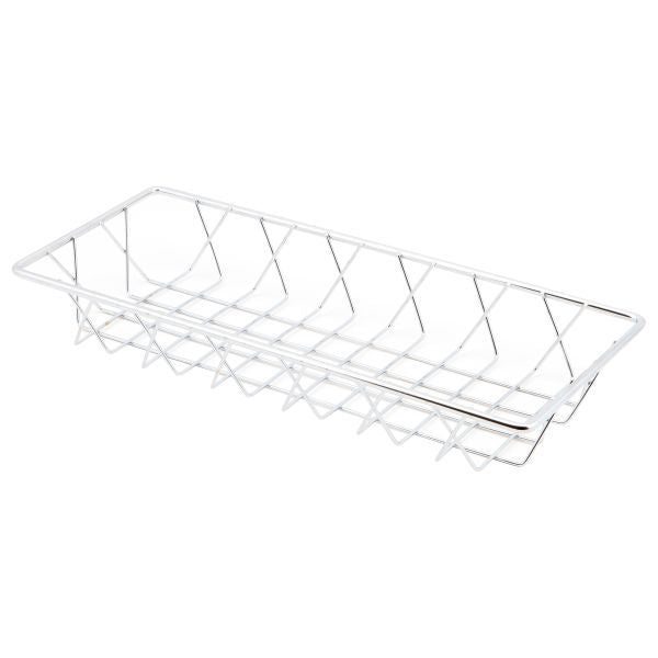 Chrome Display Basket 35X15X5cm