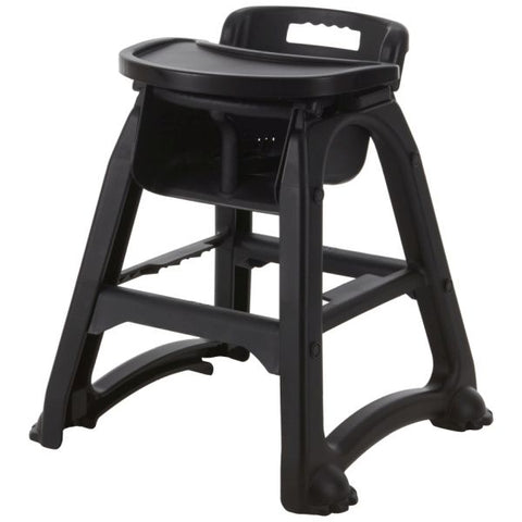 Black PP Stackable High Chair