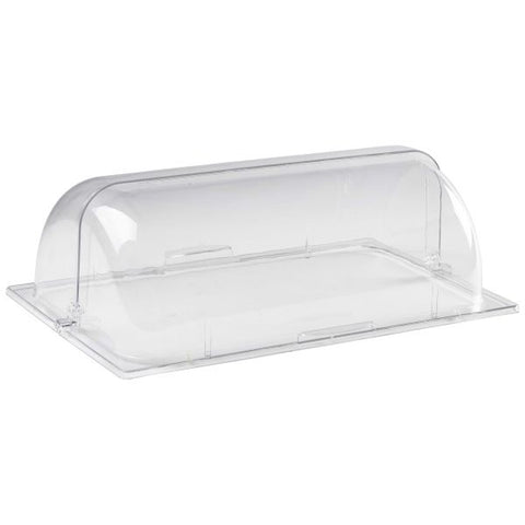Polycarbonate GN 1/2 Roll Top Cover