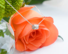Load image into Gallery viewer, 18th Birthday Crystal Charm Necklace