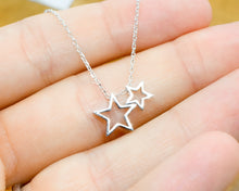 Load image into Gallery viewer, Necklace gift for friend | Good friends are like Stars | Lockdown birthday gift