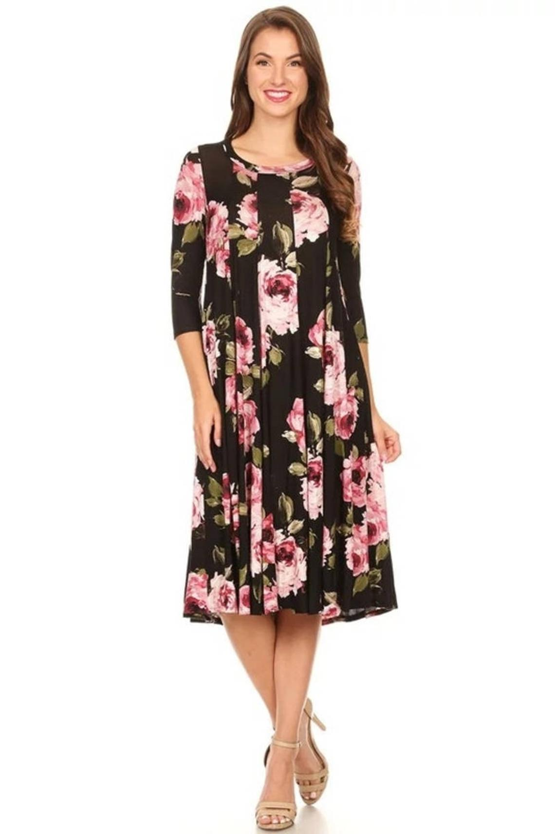 Floral Print Dresses Knee Length Buy Dresses Online
