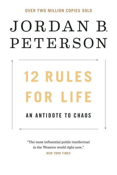 12 Rules for Life An Antidote to Chaos by Jordan Peterson:Paperback:9780345816023:booksondemand.ma:Books