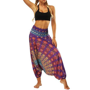 Women's Baggy Boho Yoga Pants - Shinbha