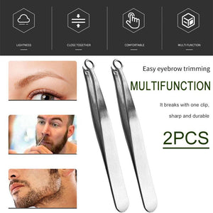 Universal Nose Hair Trimming Tweezer