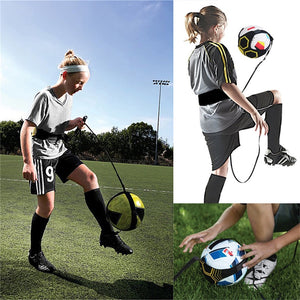 Adjustable Soccer Football Kick Throw Trainer
