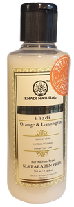 Khadi Natural Hårbalsam Orange Lemongrass