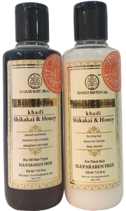 Khadi Natural Hårvårds-Kit Shikakai