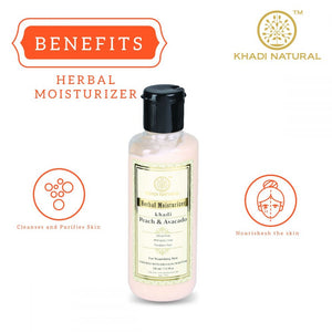 Khadi Natural Hudlotion Peach Avocado - Parabenfri
