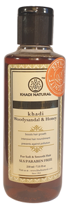 Khadi Natural Shampoo Woody Sandal & Honey