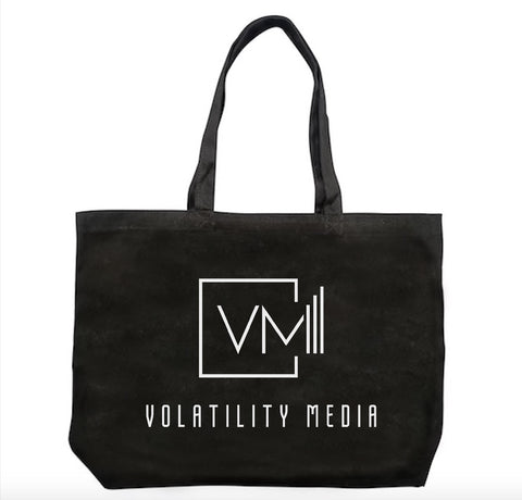 Volatility Media Tote Bag