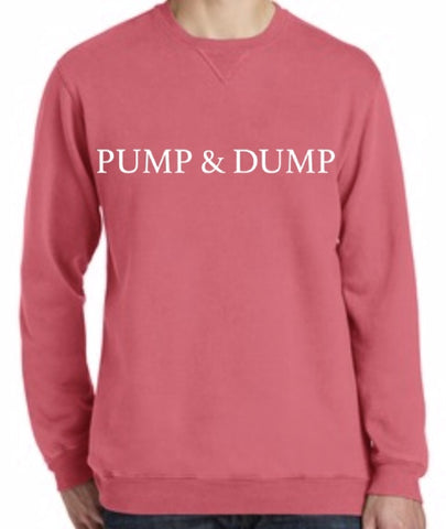 Pump and Dump Crewneck