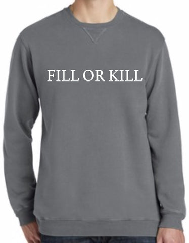 Fill or Kill Crewneck