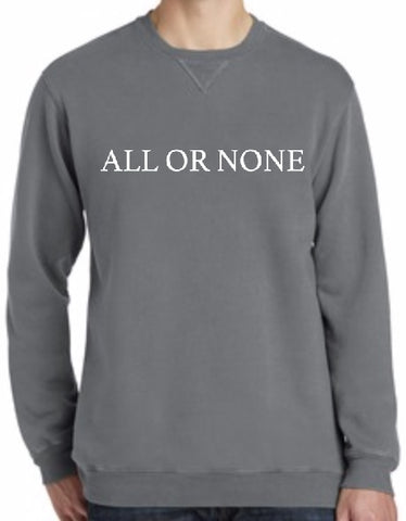 All or None Crewneck