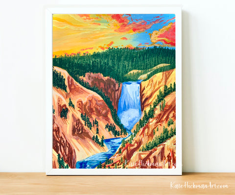 Yellowstone National Park Print