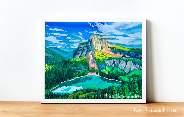 Glacier National Park Print