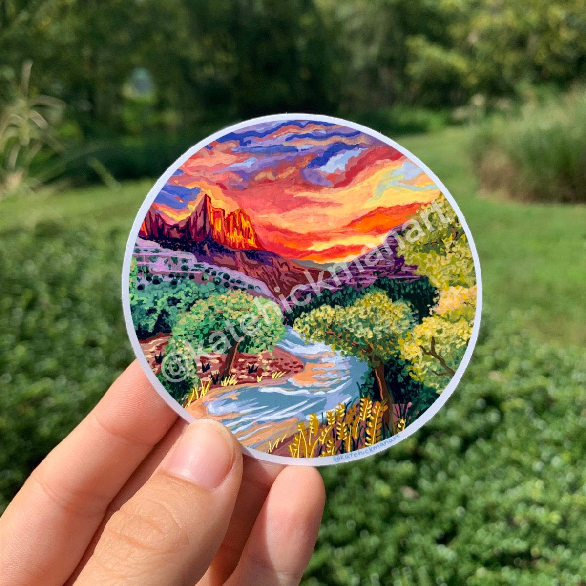 Zion National Park Stickers