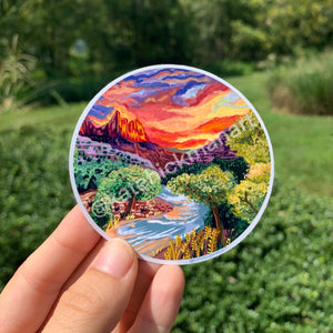 Open image in slideshow, Zion National Park Stickers