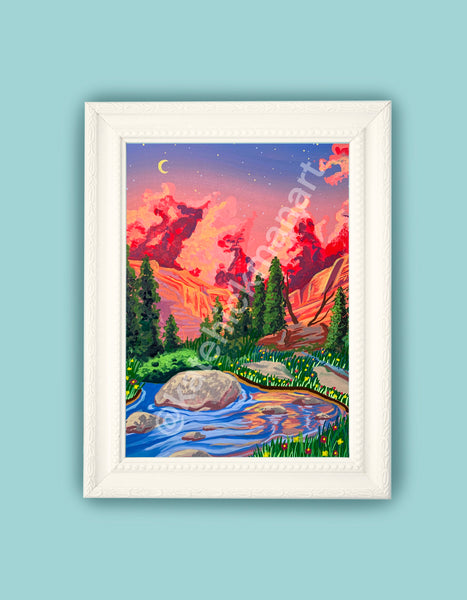 Rocky Mountains National Park Print