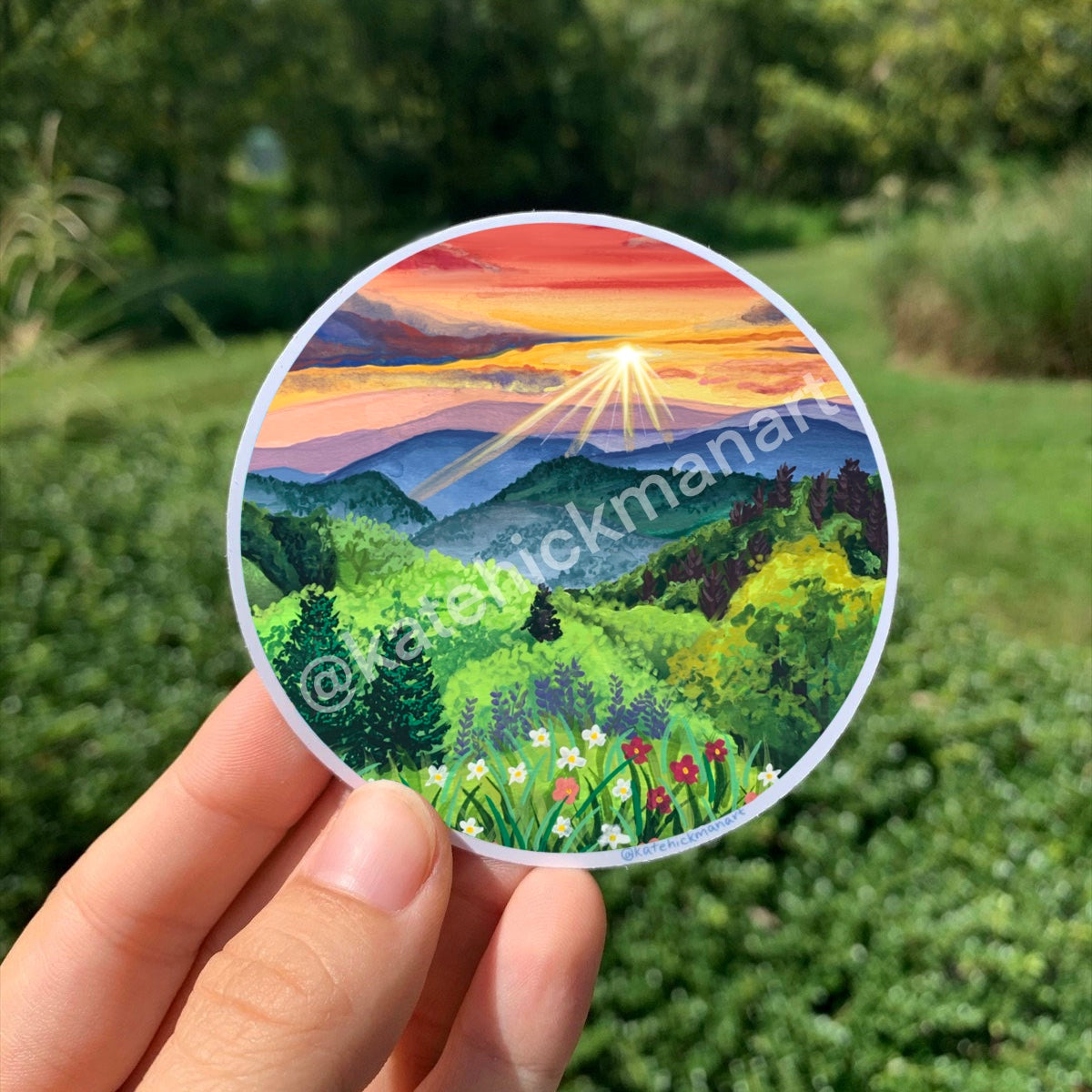 Smoky Mountains National Park Sticker