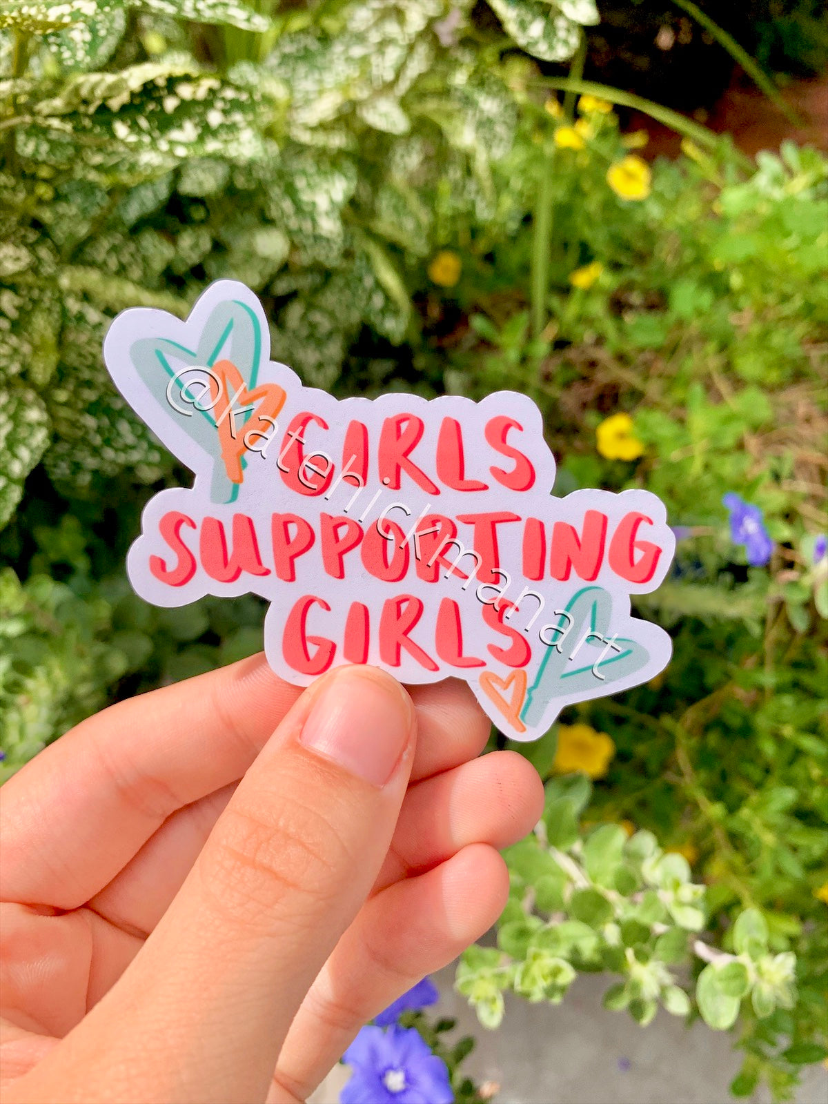 Girl Power Sticker Pack