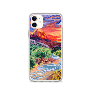 Open image in slideshow, Zion National Park iPhone Case