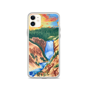 Open image in slideshow, Yellowstone National Park iPhone Case