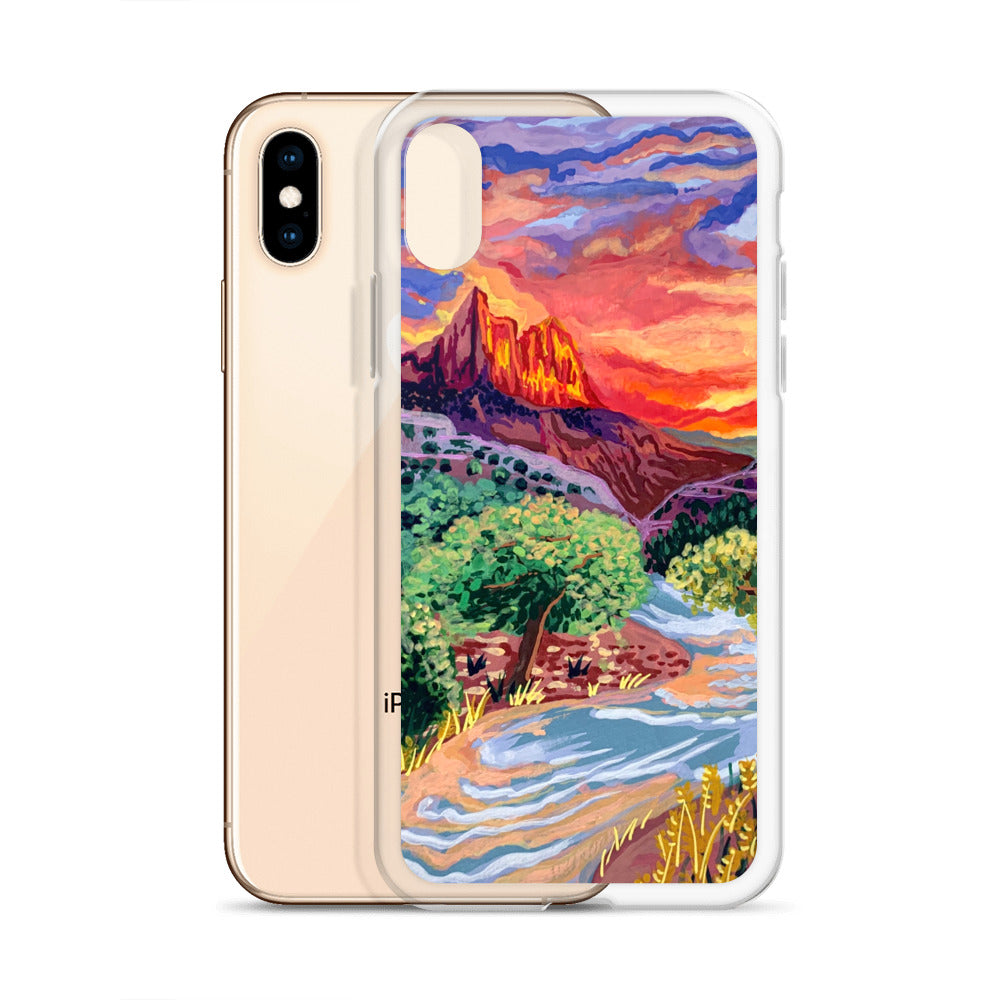 Zion National Park iPhone Case