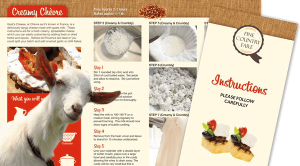 Cheese Making Kit - The perfect food gift