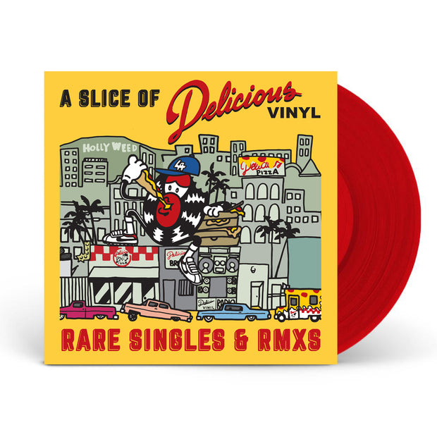 A Slice Of Delicious Vinyl: Rare Singles & RMXs (Red Vinyl)