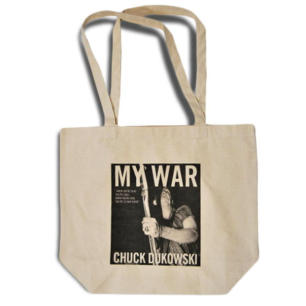 My War Tan Canvas Tote Bag