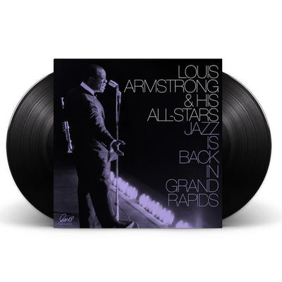 Louis Armstrong & His All Stars Jazz Is Back In Grand Rapids 2x Black Vinyl