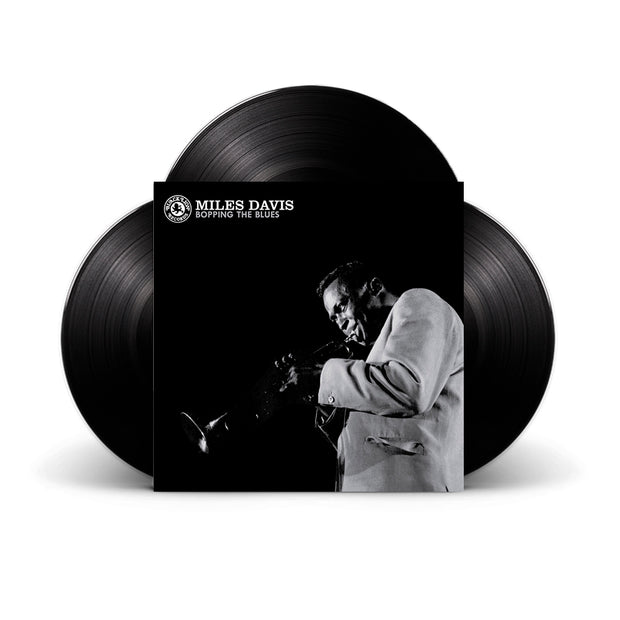 Boppin' The Blues Deluxe 3x Audiophile Release Black Vinyl