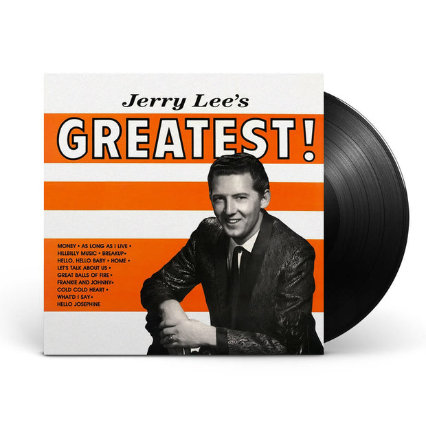 Jerry Lee's Greatest Black Vinyl