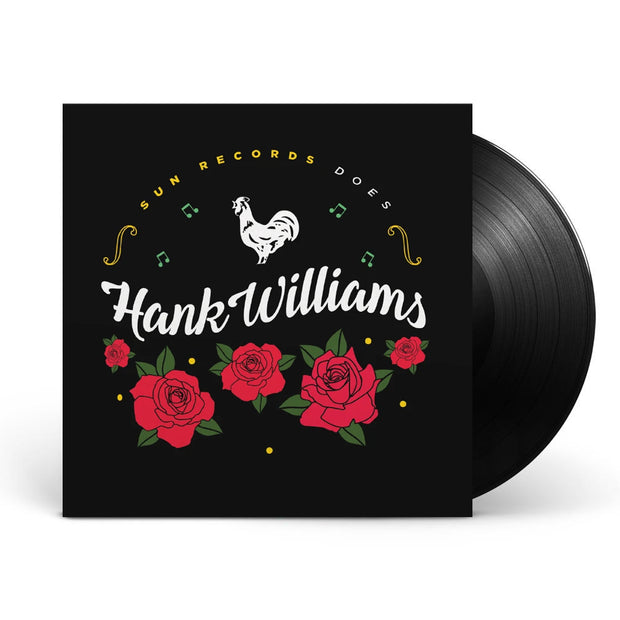 Various Artists: Sun Records Does Hank Williams Black Vinyl