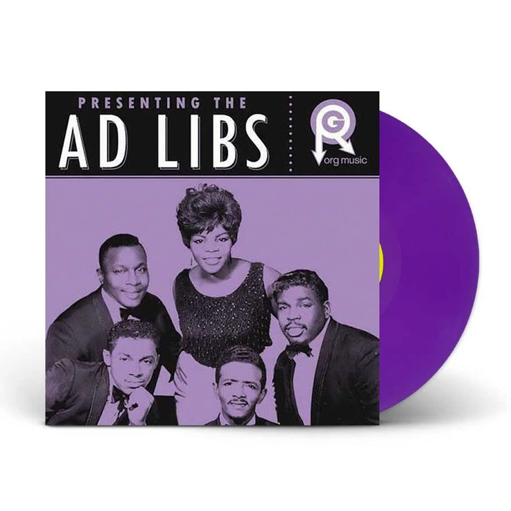 Presenting… The Ad Libs Purple Vinyl