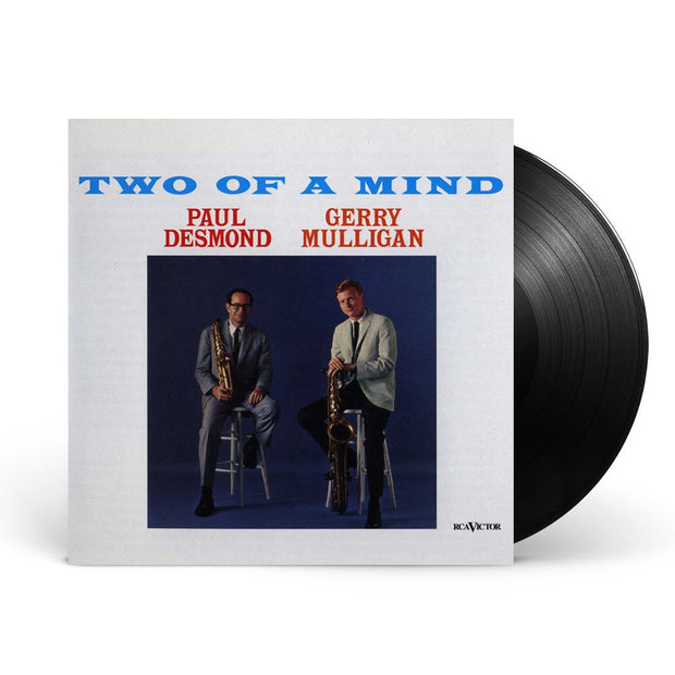 Paul Desmond & Gerry Mulligan Two Of A Mind Black Vinyl
