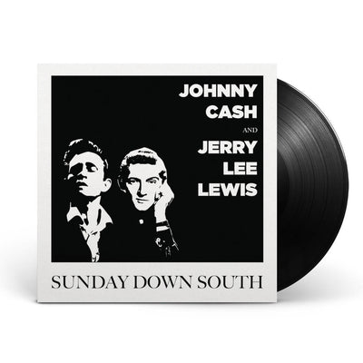 Johnny Cash & Jerry Lee Lewis Sundays Down South Black Vinyl