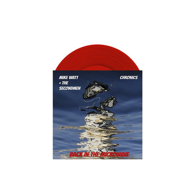 "Back In The Microwave Split Red 7"" Vinyl"