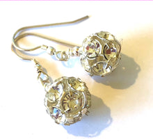 Load image into Gallery viewer, Flora Crystal Ball Earrings