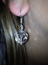 Load image into Gallery viewer, Flora Swarovski® Faceted Crystal Earrings