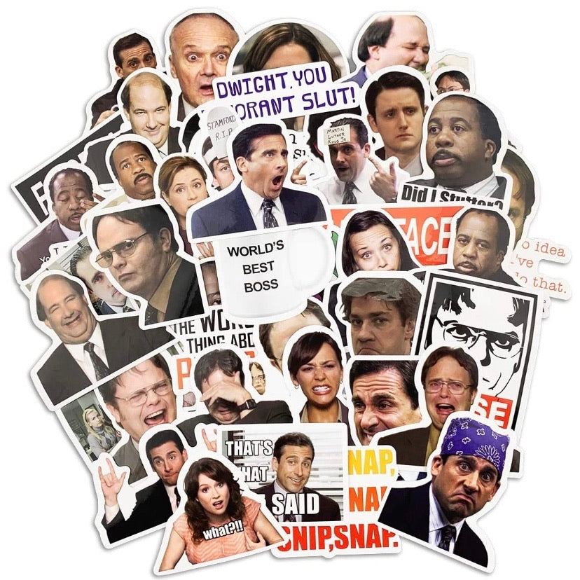The Office Sticker Surprise Pack