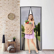 Load image into Gallery viewer, The Navika Magnetic Screen Door, puerta mosquitero, mosquitera, mosquiteros, apalaus, cortina mosquitera magnética.