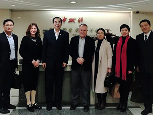 Jeff Janiszewski, Senior VP, Empire State Development, visited Sino-Sci