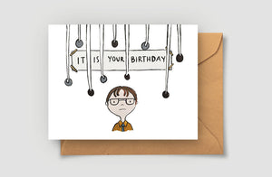 It Is Your Birthday Greeting Card - Blank Card