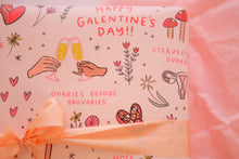 Load image into Gallery viewer, Galentine's Wrapping Paper 20x29